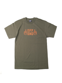 [HV_2017_T05] OFFEND T-SHIRT (OLIVE)