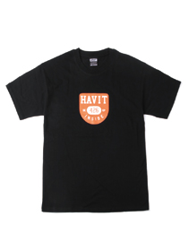 [HV_2017_T10] HAVIT LOGO T-SHIRT (BLACK)